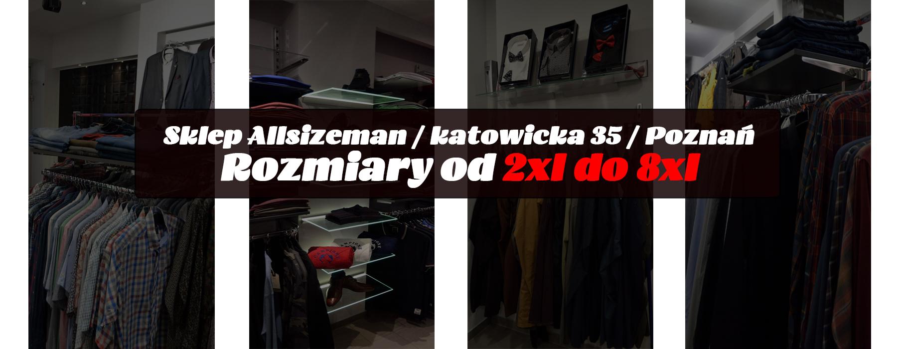 39cf05d2c5 Markowa odzież męska w dużych rozmiarach